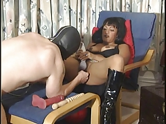 Slave getting tortured and punished