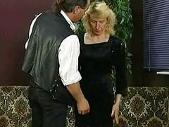 Boss pulls up skirt of his secretary and spanks their way superior to before their way a