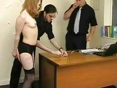 Rough Spanking of Madison Young and degrading