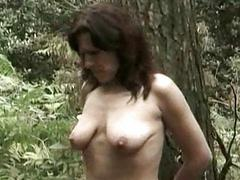 Horny slave is fated to a tree in dramatize expunge air an ell of fucked in dramatize expunge air a dildo in dramatize expunge air an ell of hi