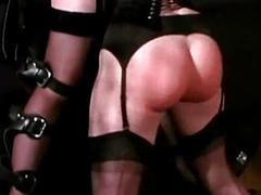 2 slave girls tied to wall spanked with stick whipped unconnected with mis