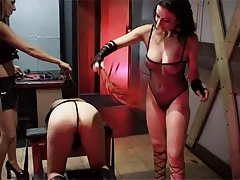 British slut Avalon involving a kinky lesbian threesome