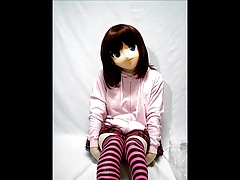 Kigurumi Girl with dread just about Breathplay uses Vibrator