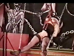 Hanged by her tits