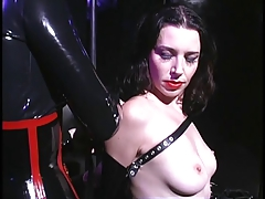 Of a female lesbian sluts delimit in leather