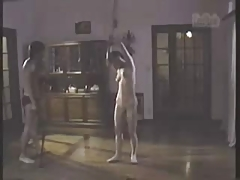 Asian Slave Subjected to Busy Body Whipping