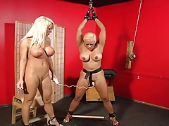 Big Special Lesbian Soumisive spanked