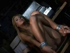 Young mistress punishing beautiful girl