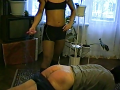 Russian hardbody spanks