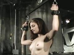 Slave hogtied in her be dying for