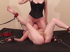 Raven gets dominated and prog girlfriend's pussy