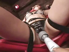 Gaged Japanese Widely applicable Play With A Vibrator