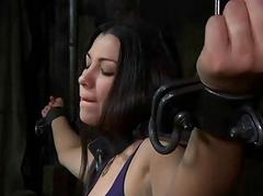 Scatological caning for fatiguing chick