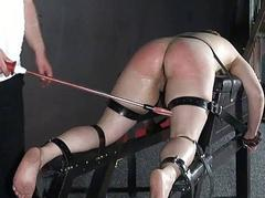 Unpaid slave Jannas electro bdsm shopping bag