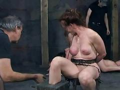 Facial torture be proper of pretty babe