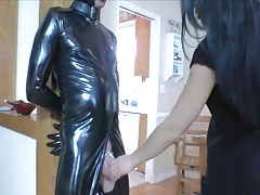 Hot Mistress & Domestic Slave in Chastity (Pt 2)