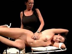 Mistress playing with her sex resultant