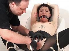 Japanese pussy stapling torture and extreme dental