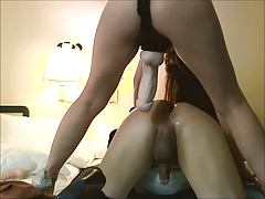 Big cock gets fucked hard! PLZ LEAVE A COMMENT!