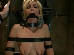 Hot pretty infant punished and fucked