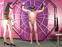 Pantyhose A talking-to Punishes Go first Slave