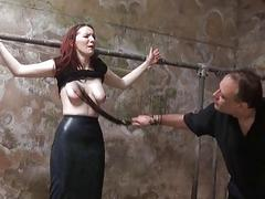 Procrastination slaves outdoor domination and harsh whipping