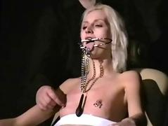 Blonde subjugation babe Wynter harrowing and humiliated