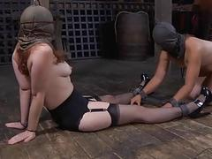 Intensive torment for slaves