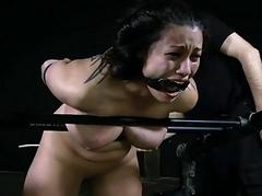 Lubricious caning be worthwhile for tough girl