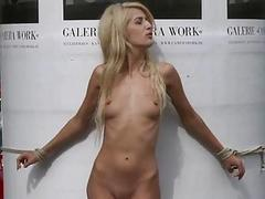 Girl punished by pinch pennies and hooker