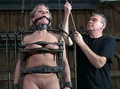 Hot slaves delighting every time other
