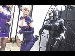 Rubber latex doll vassalage  training With Madame C