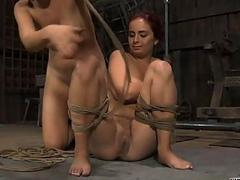 Beauty loves filthy pleasuring